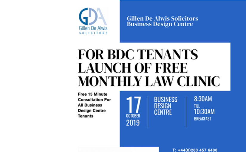 Gillen De Alwis New Office Launch Breakfast & workshops at Business Design Centre